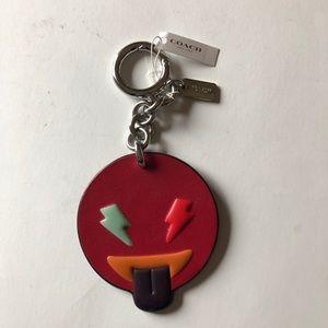 🆕 Coach Emojii keychain